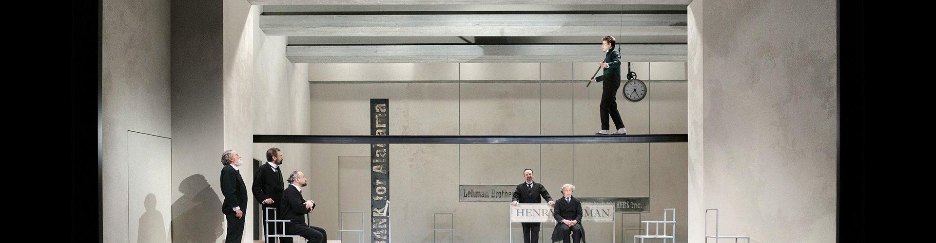 """""""Lehman Trilogy"""", foto di Attilio Marasco Piccolo Teatro di Milano – Teatro d'Europa"""