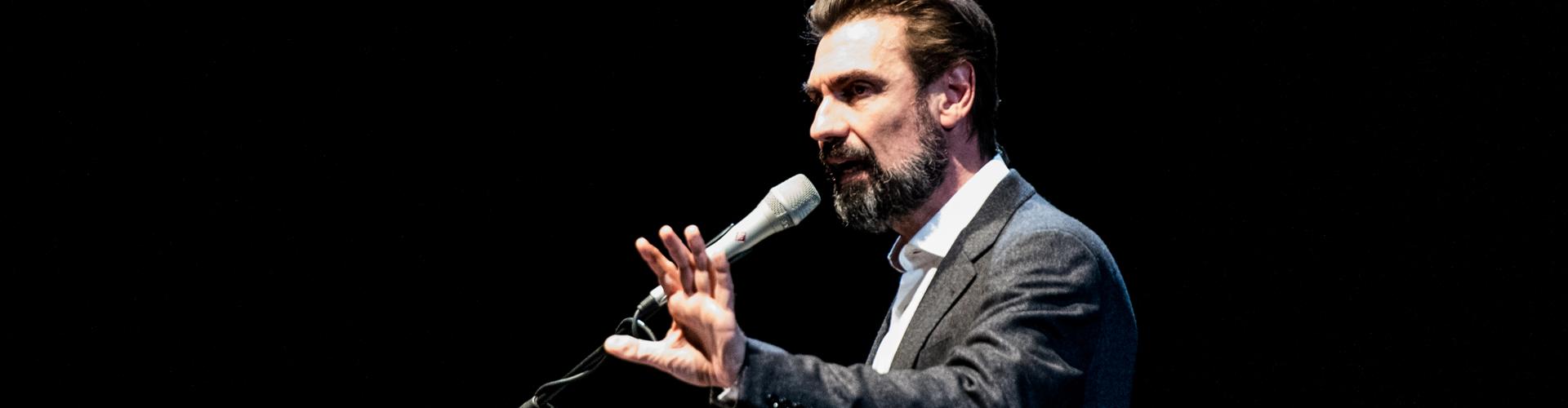 """""""I sommersi e i salvati"""" - Festival Biennale Democrazia, Teatro Regio di Torino - 27 marzo 2019 - Foto di Alessandro Bosio"""
